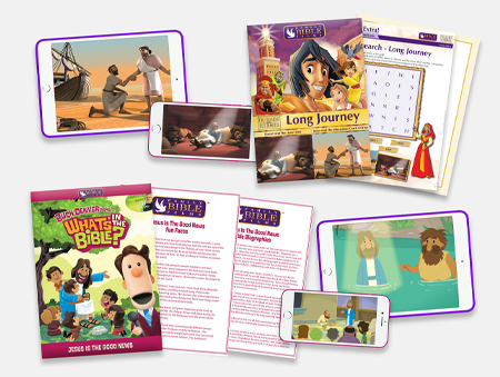 Wisdom from Above video lessons make it fun for kids to learn about the Bible