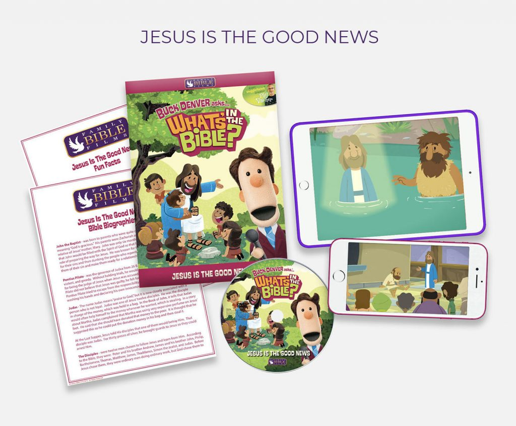 Jesus is the Good News video lesson